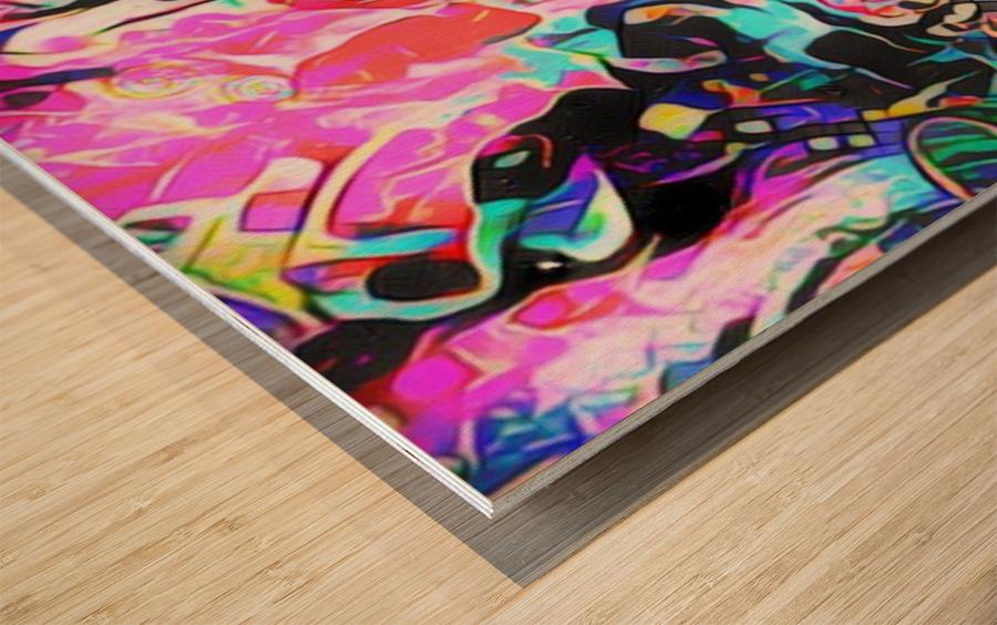 Pictorem Wood print