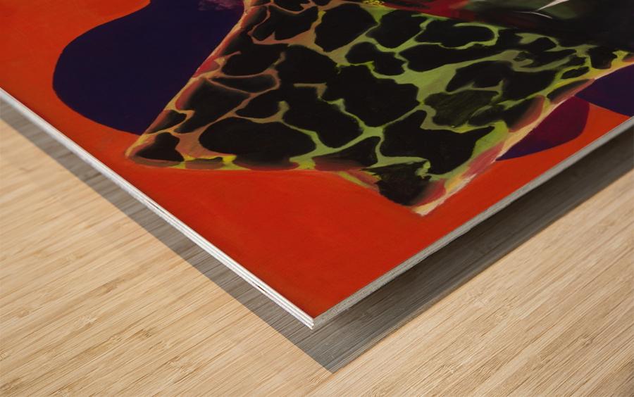 3000 AND BEYOND Wood print