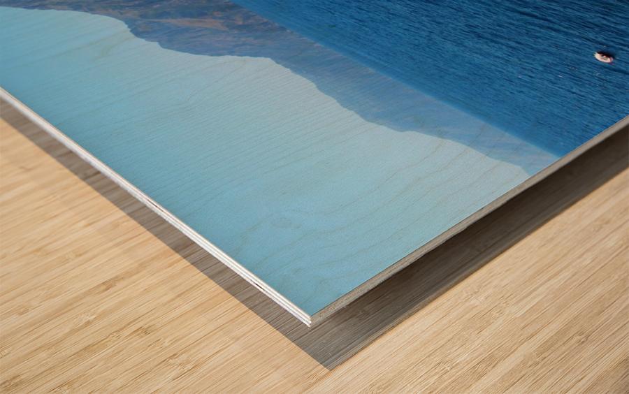 Praiano Beach - Amalfi Coast Wood print