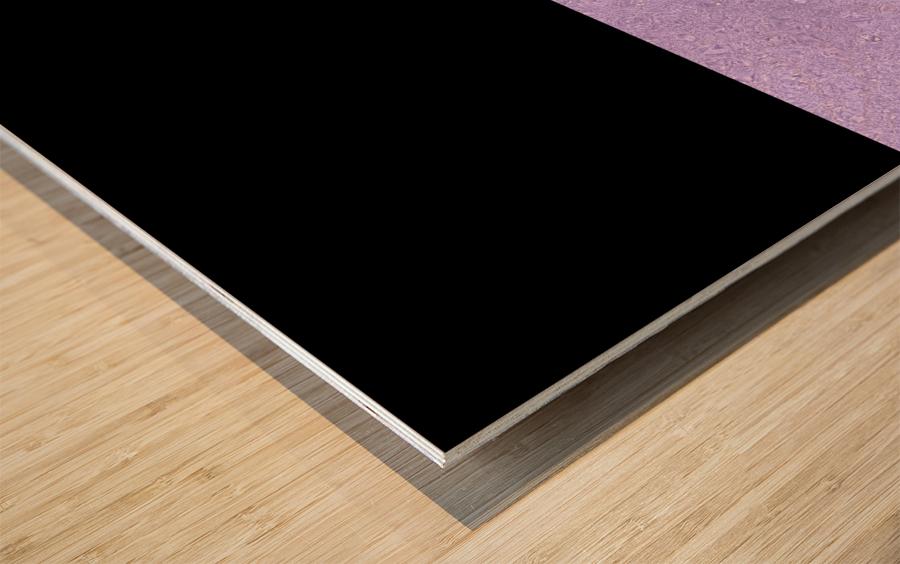 ABSTRACT PURPLE GLITTER Wood print