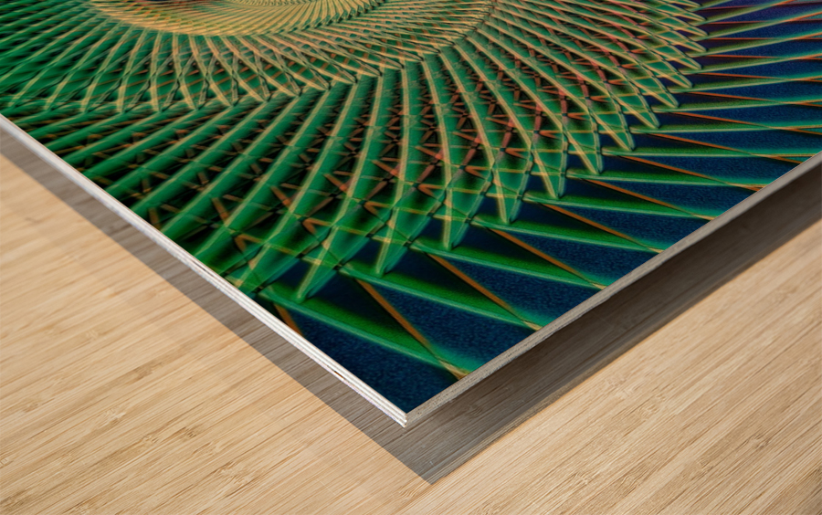 Composition Logarithmique Wood print