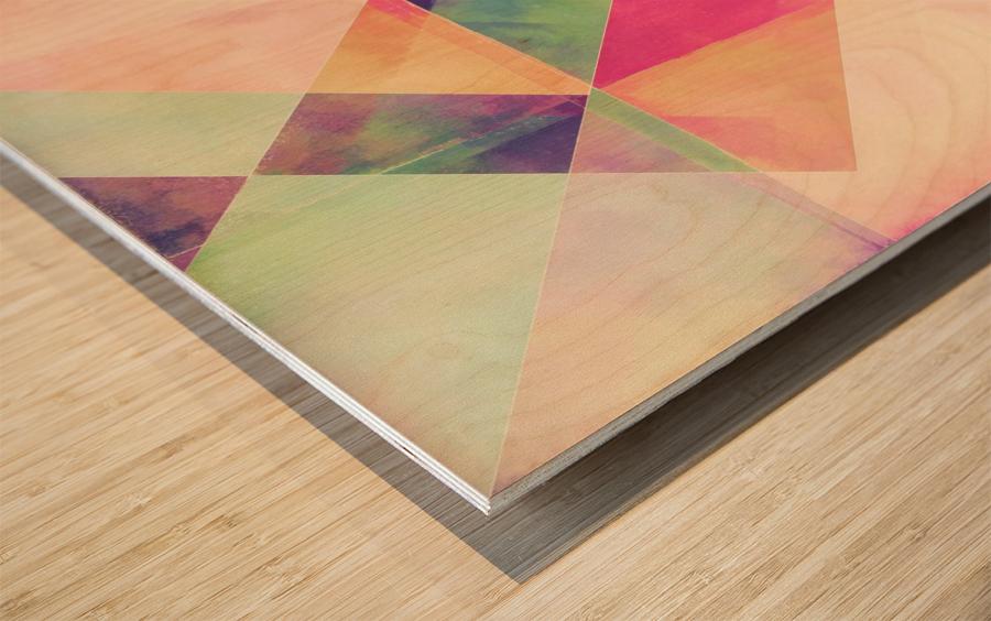 Balancing Act Wood print