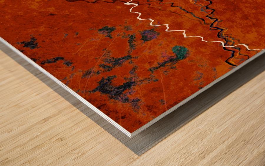 Ancient Paths Wood print