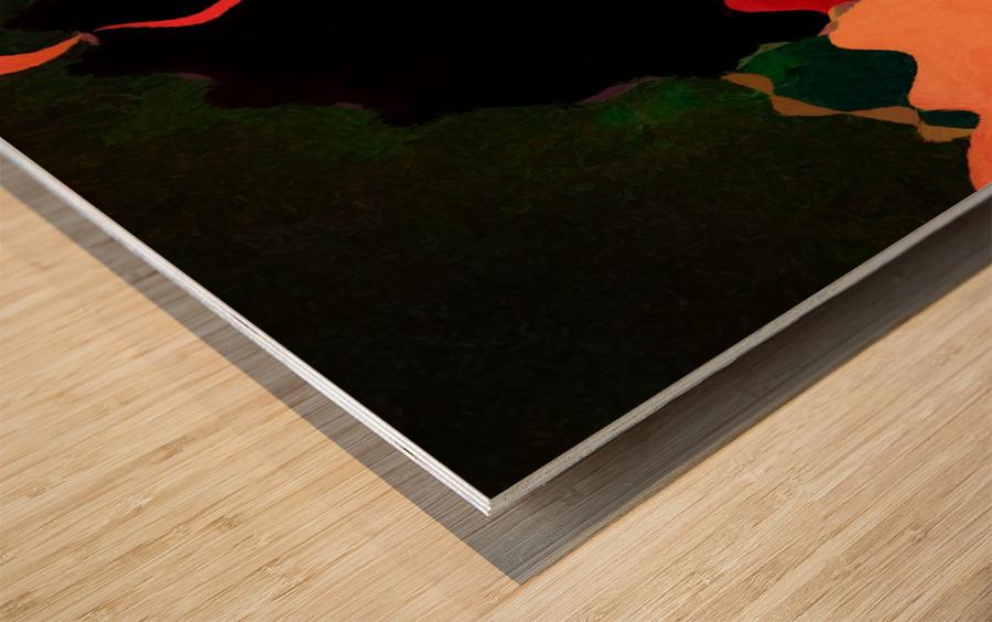 The Rise Of Madame Pele Wood print