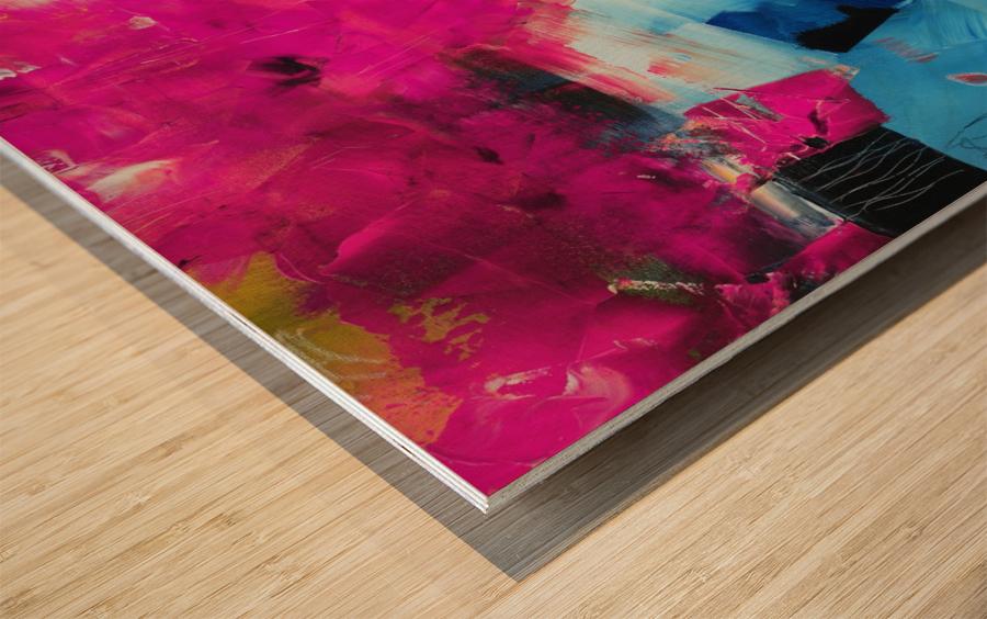 Abstract 21 Wood print