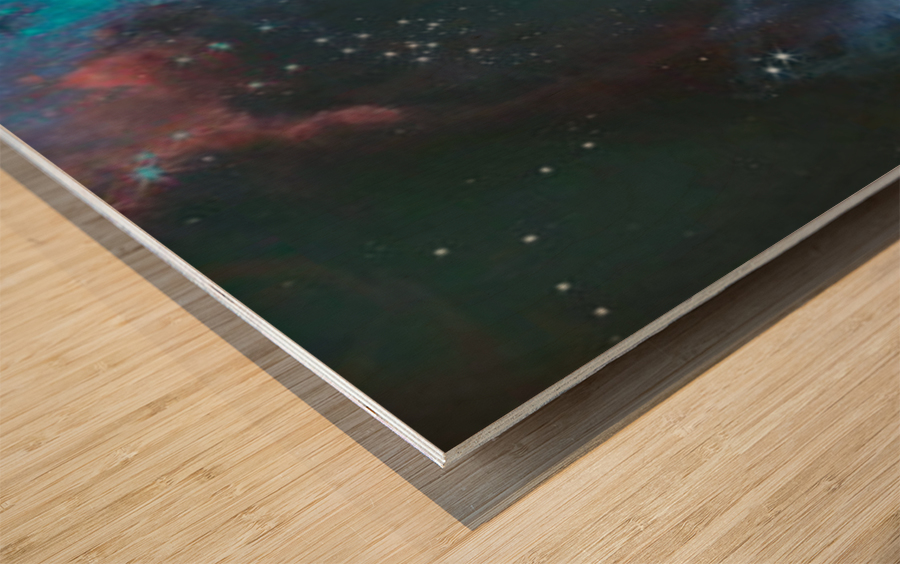 Alternate Universe Wood print