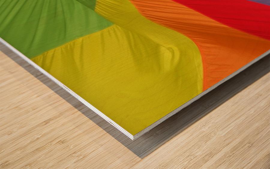 Material Wood print