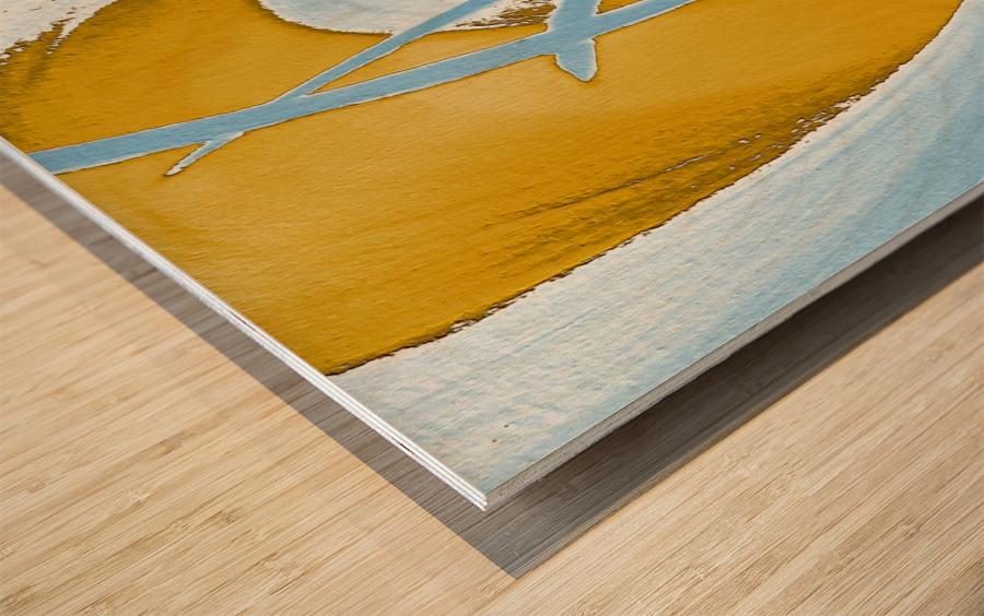 Energy Flow Wood print