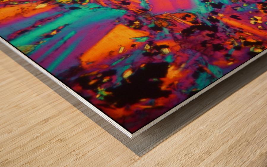 Dynamite Wood print