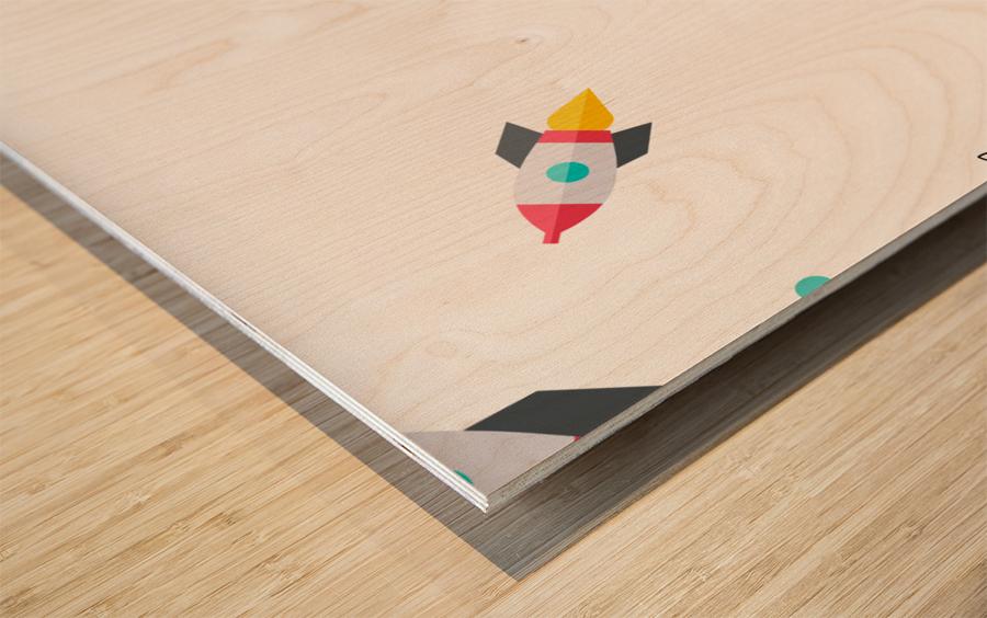 Space (15) Wood print