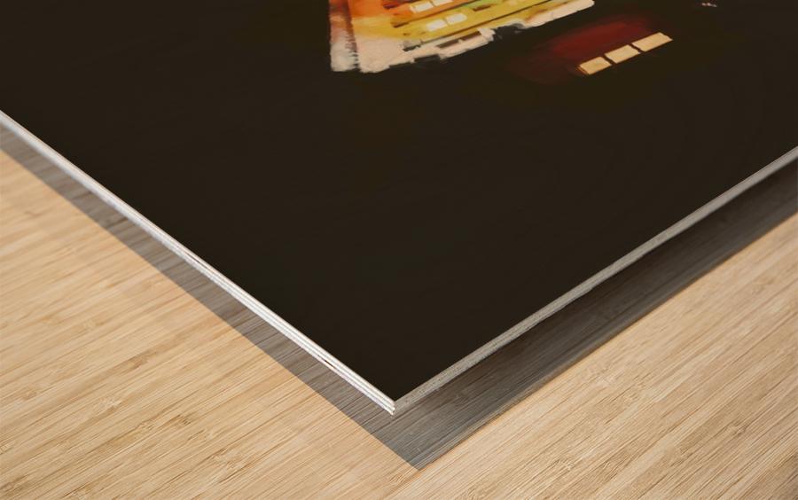 BERLIN_View  076 Wood print