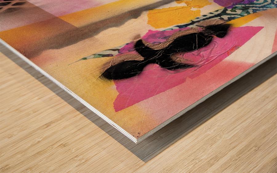 Cultural Remnant - g Wood print