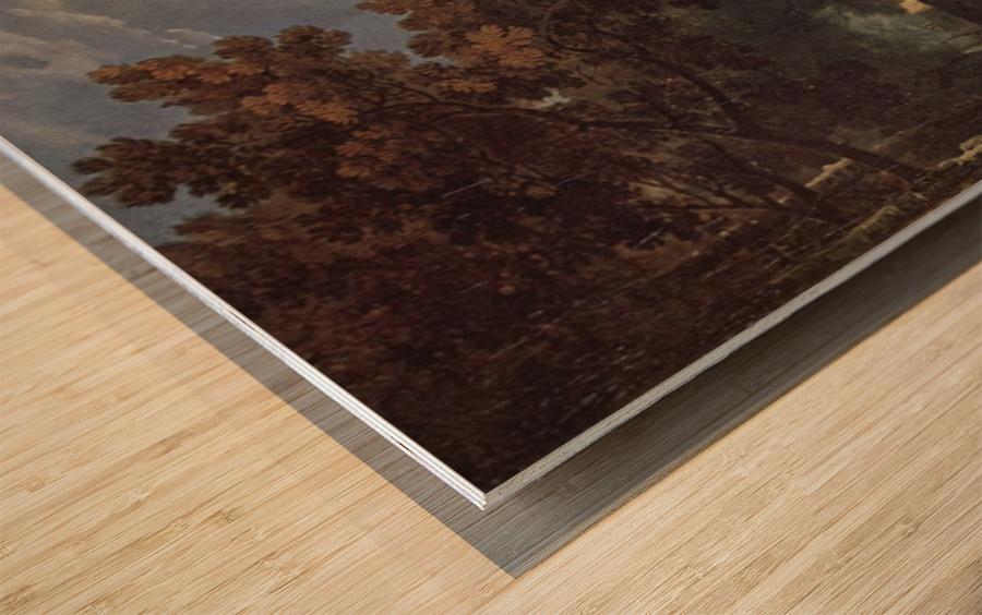 Ariccia Wilton Wood print