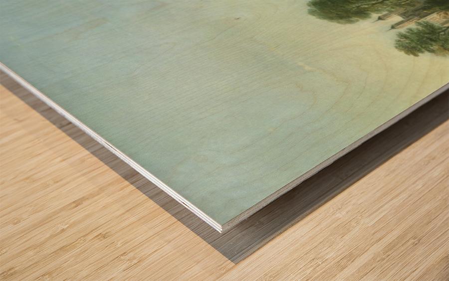 Wesminster Bridge Wood print