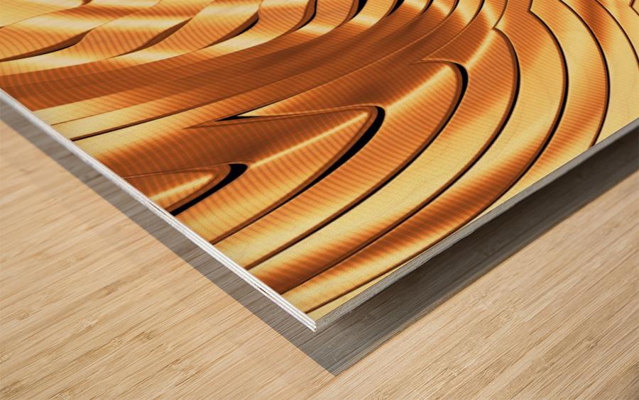 Goldie X v3.0 Wood print