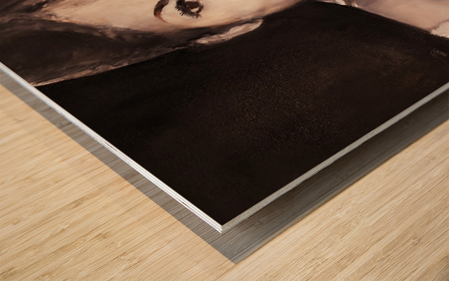 Aretha Impression sur bois