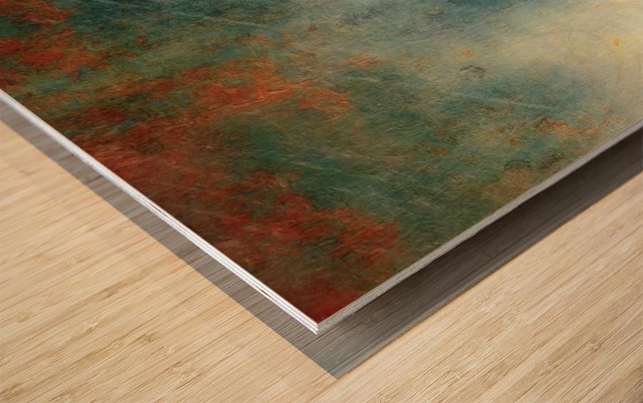 The Gathering Storm Wood print
