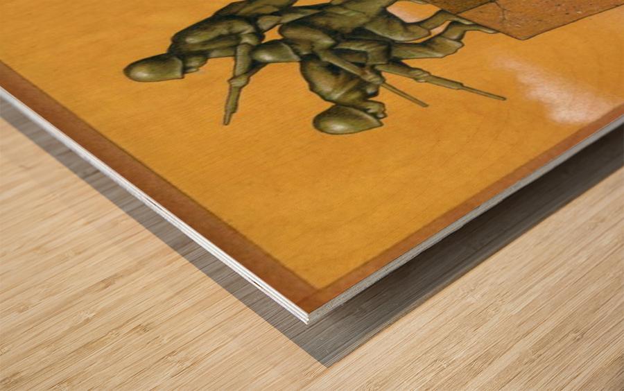 Monument Wood print