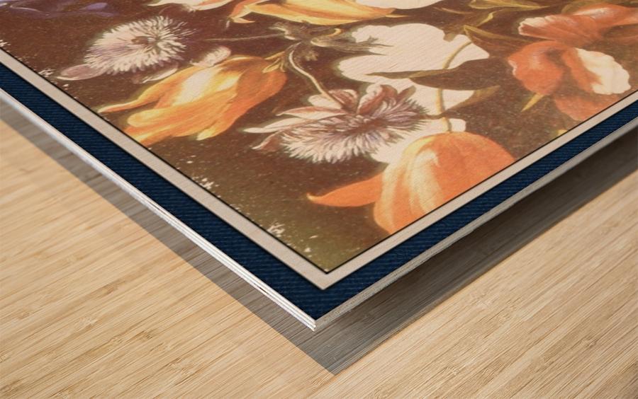 . Floral Explosion   9 Wood print