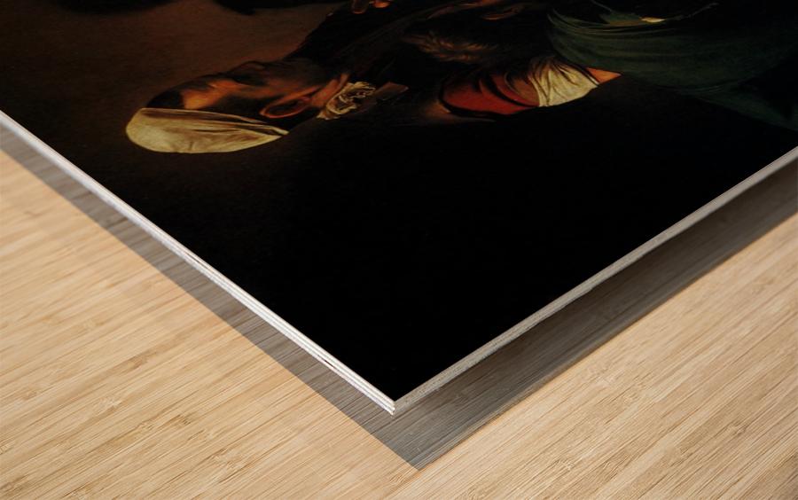 The Dinner Wood print