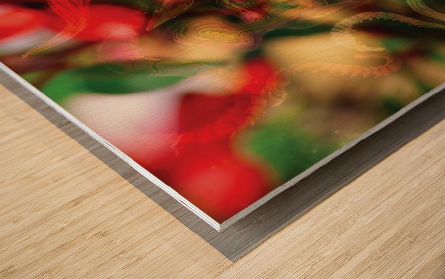 beyond visible Wood print