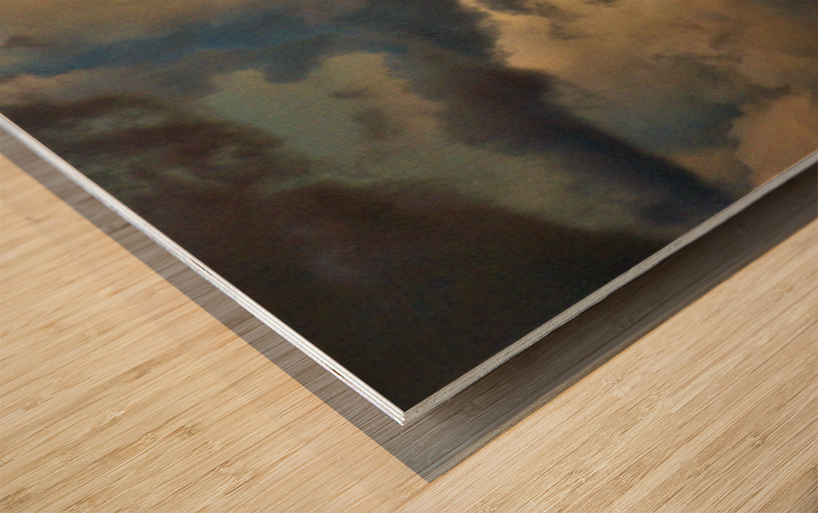 Enter Wood print