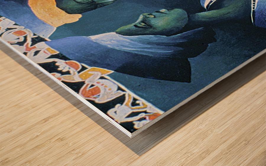 secrets damies Wood print