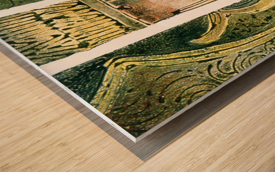 Secret mortel Wood print