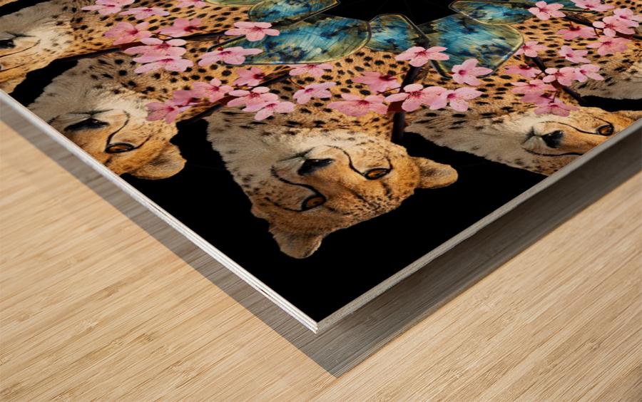 BAD KITTY - Wood print