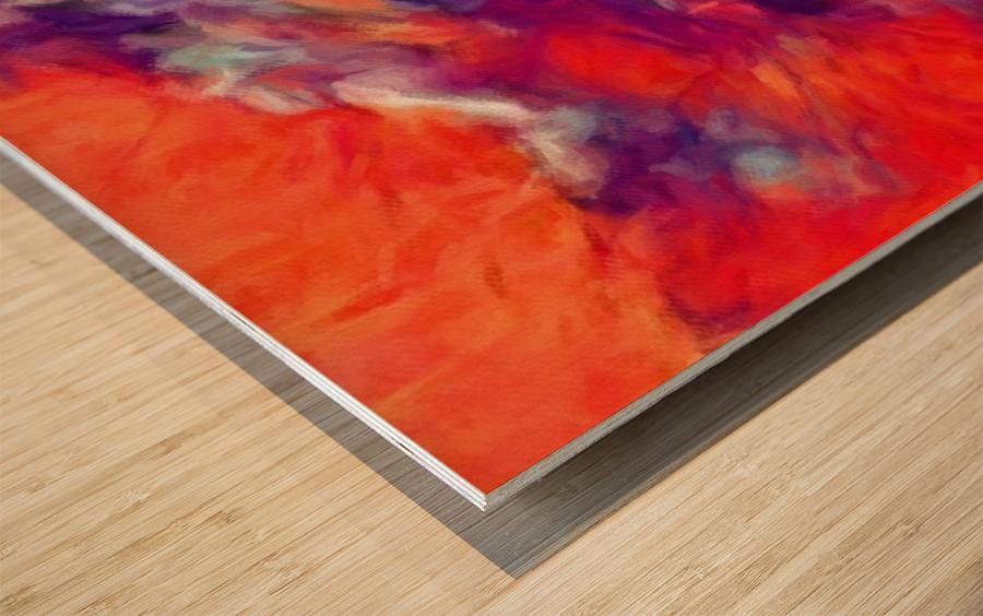 Impresso Wood print