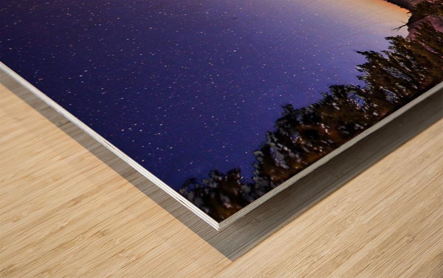 Twin Magic Wood print