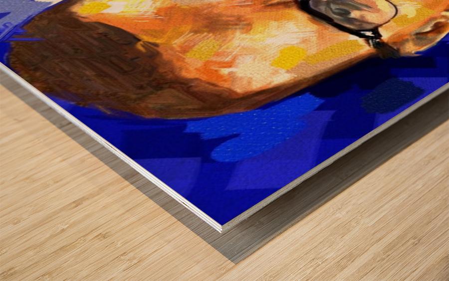 028 Wood print