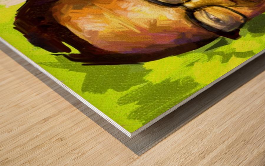025 Wood print