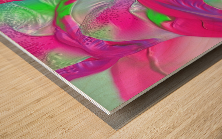 161 Wood print