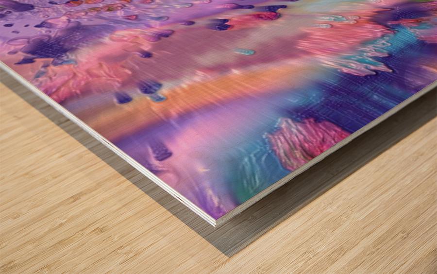 129 Wood print