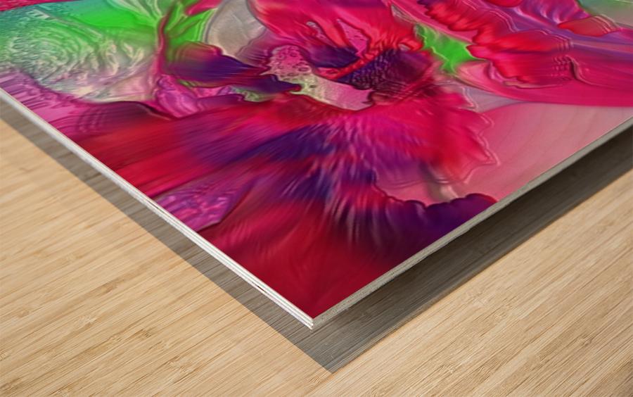 191 Wood print
