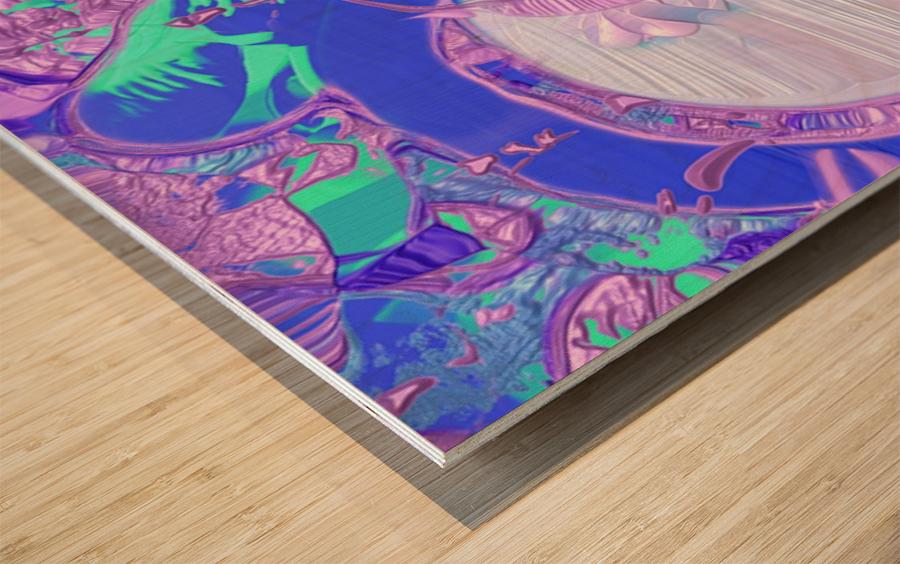 540 Wood print
