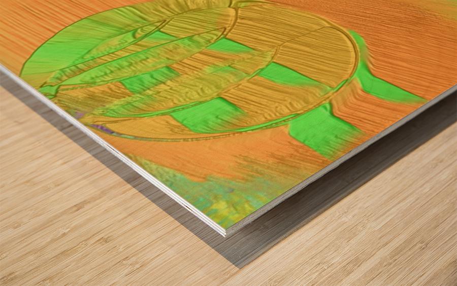 542 Wood print