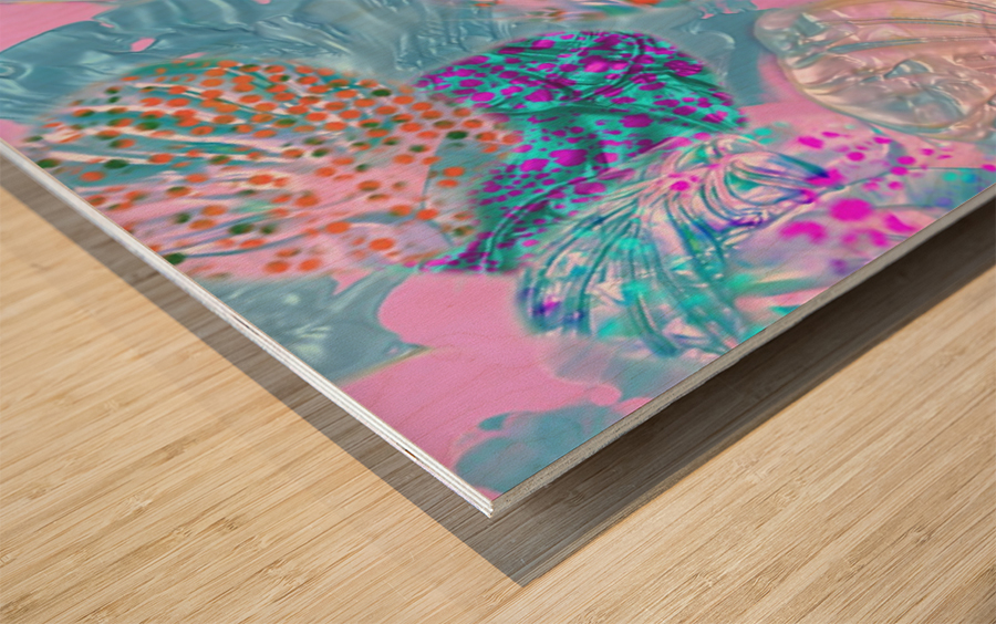 534 Wood print