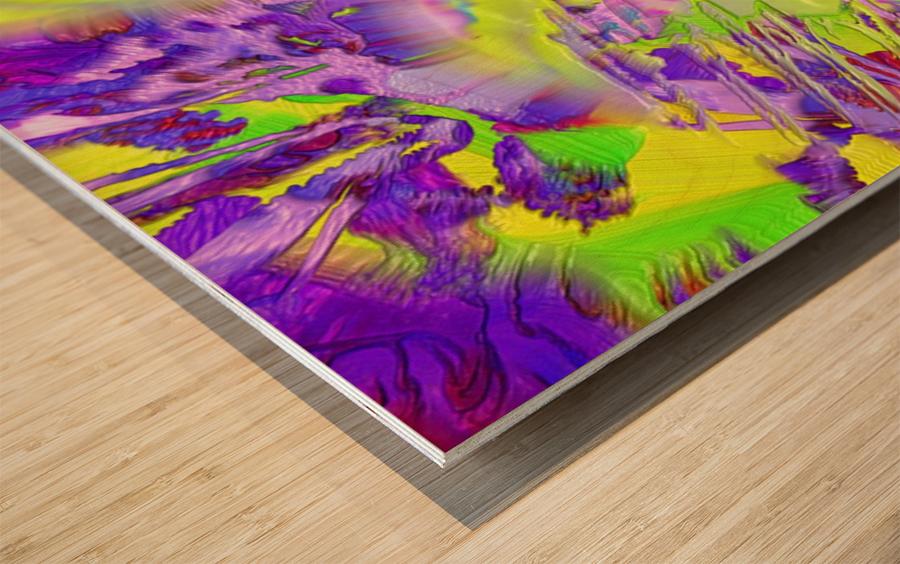 563 Wood print
