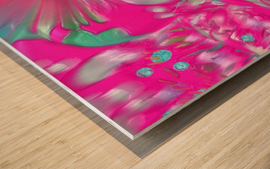 612 Wood print
