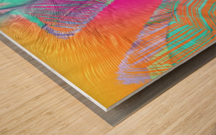 609 Wood print