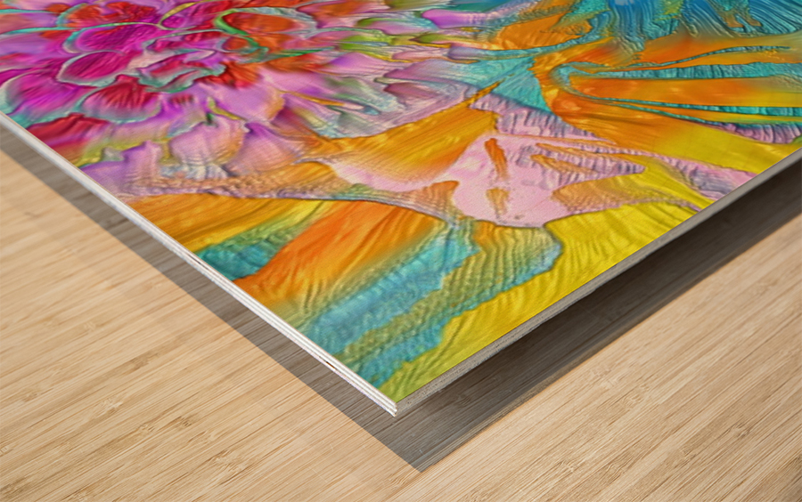 621 Wood print