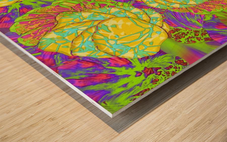 812 Wood print