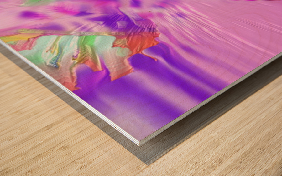 831 Wood print