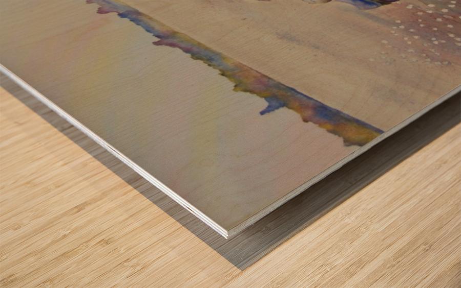 Inukshuk Wood print