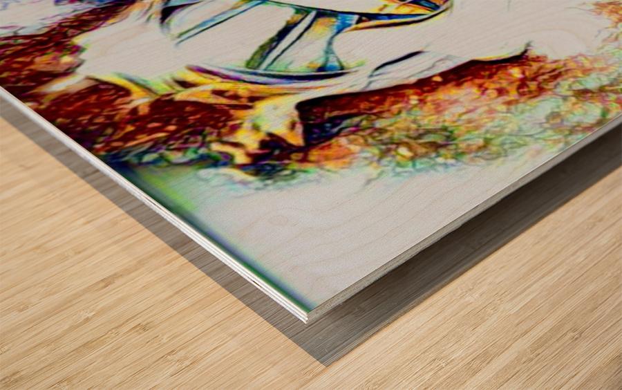 desire Wood print