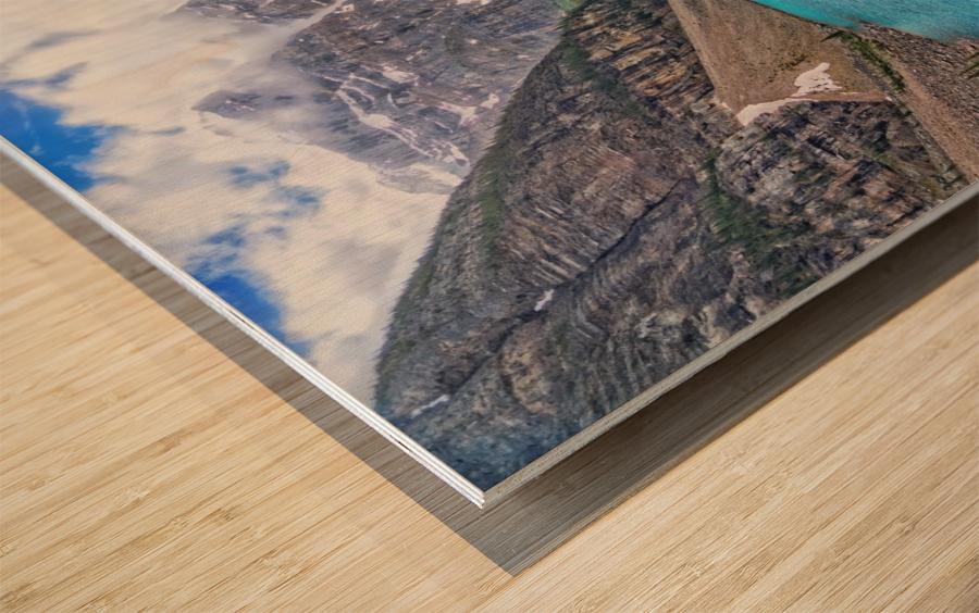 Moraine Lake in Banff National Park BC Wood print