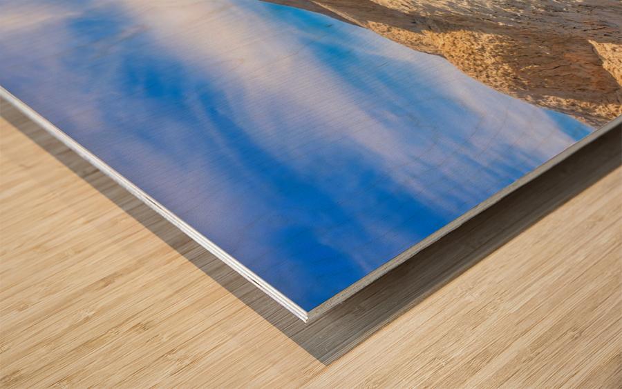 Badlands of Death Valley Wood print