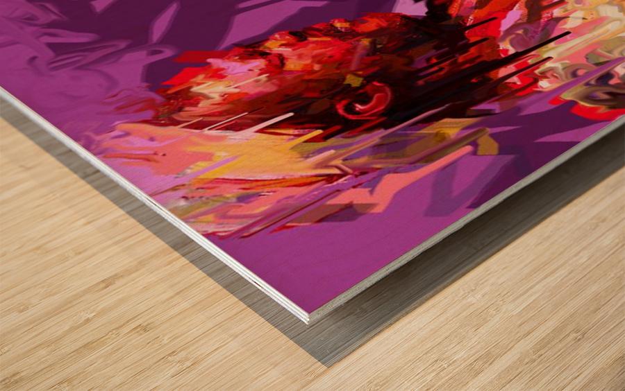 Untitled 16 Wood print